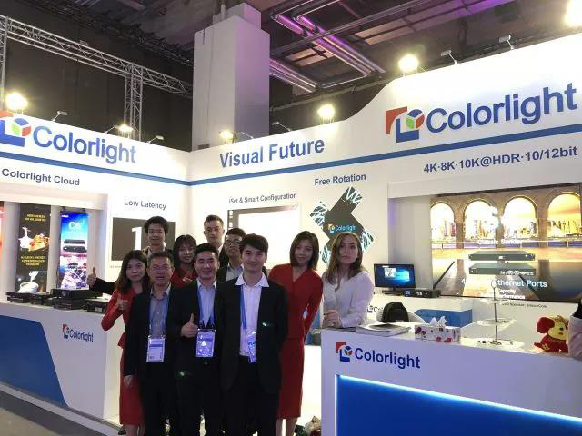 Colorlight HDR Draws Attention at Prolight + Sound, Germany.