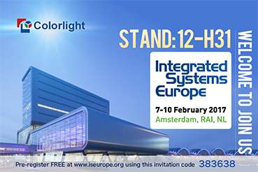 ISE2017, Colorlight is ready!